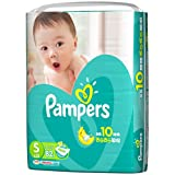 《ケース》 P&G パンパース さらさらケア テープ スーパージャンボ Sサイズ 男女共用 4~8kg (82枚)×4個 テープタイプおむつ 【P&G】