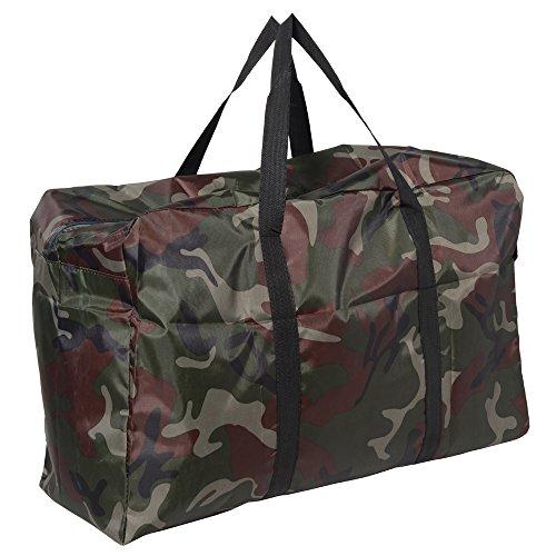MAISON DE UN MAILLOT 折りたたみ トート バッグ 100L 収納 スポーツバッグ (カモフラ)