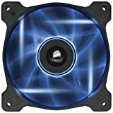 Corsair Air Series AF120 LED Quiet Edition High Airflow Fan Single Pack - Blue [並行輸入品]