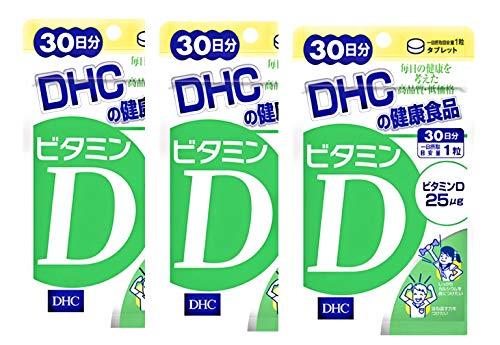 DHC ビタミンD3 30日分 × 3袋