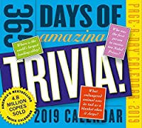 365 Days of Amazing Trivia! Page-A-Day Desk Calendar 2019 [6 x 6 Inches] [並行輸入品]
