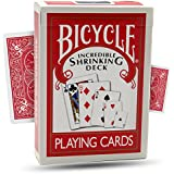 The Incredible Shrinking Deck Magic Trick by Magic Makers - Magically Change Size of the Cards in This Deck