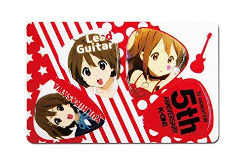けいおん! ピックカード 唯 (RED)