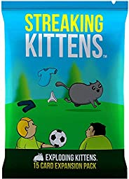 Streaking Kittens: This is The Second Expansion of Exploding Kittens Card Game - Family Card Game - Card Games