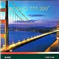フェニックスモデル PHX04233 1:400 キャセイパシフィックボーイング 777-200 Reg #B-HNL (塗装済み/組み立て済み)