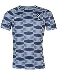 2017-2018 Tottenham Nike Pre-Match Training Shirt (Blue)