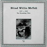 Blind Willie Mctell: 1927