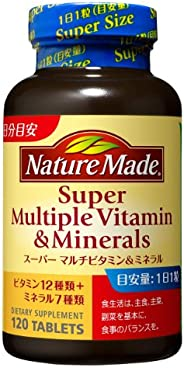 大塚制藥 NatureMade Super Multiple Vitamin&Mineral 120粒 維生素&a