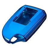 スマートキーケース トヨタ ハイエース 4 型 スマピタ ハード k19 【ブルーメッキ】