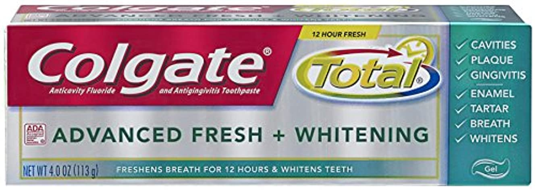 浜辺スタジオ極端なColgate 総高度な新鮮+ホワイトニング歯磨き、4.0オンス(6パック) 6パック
