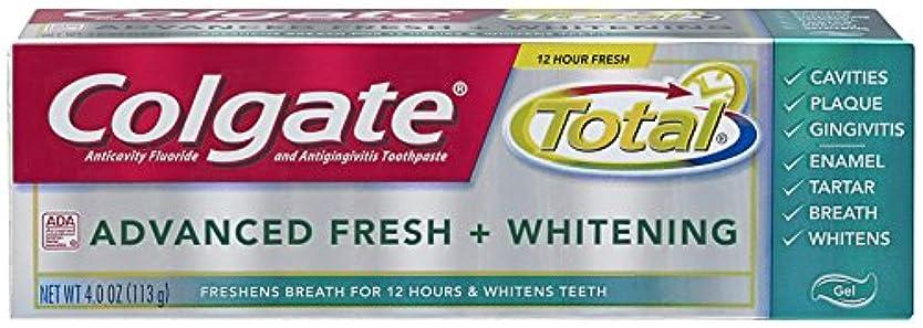 重さアクティビティマグColgate 総高度な新鮮+ホワイトニング歯磨き、4.0オンス(6パック) 6パック