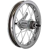 Wheel Master 12-1/2 x 2-1/4 Rear Bicycle Wheel, 20H, Steel, Bolt On, Silver by WheelMaster