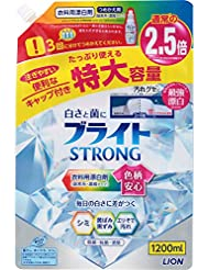 【大容量】ブライトSTRONG 衣類用漂白剤 詰め替え 1200ml