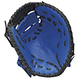 SSK(エスエスケイ) 野球 軟式ミット クラスゾーンシリーズ 一塁手用 ブルー×ブラック 右投用 CLF730