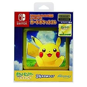 Nintendo Switch専用カードポケット24 ポケットモンスター Let's Go! ピカチュウ