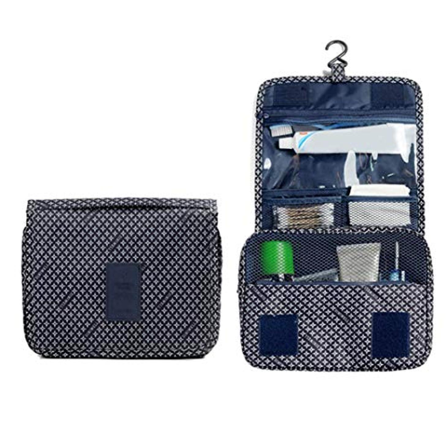 限りループ手錠Wadachikis 例外的な女性ジッパーハンギング防水旅行トイレタリーの洗浄化粧品オーガナイザーバッグバッグ(None Picture Color)