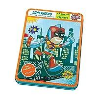 [Mudpuppy]Mudpuppy Superhero Magnetic Figure 9780735343979 [並行輸入品]