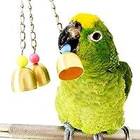 Rypet 鳥の甘い鐘は、恋人の恋人ピンチケージのおもちゃのおもちゃを噛む