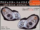 SONAR製 ベンツ Cクラス W203 プロジェクターヘッドライト