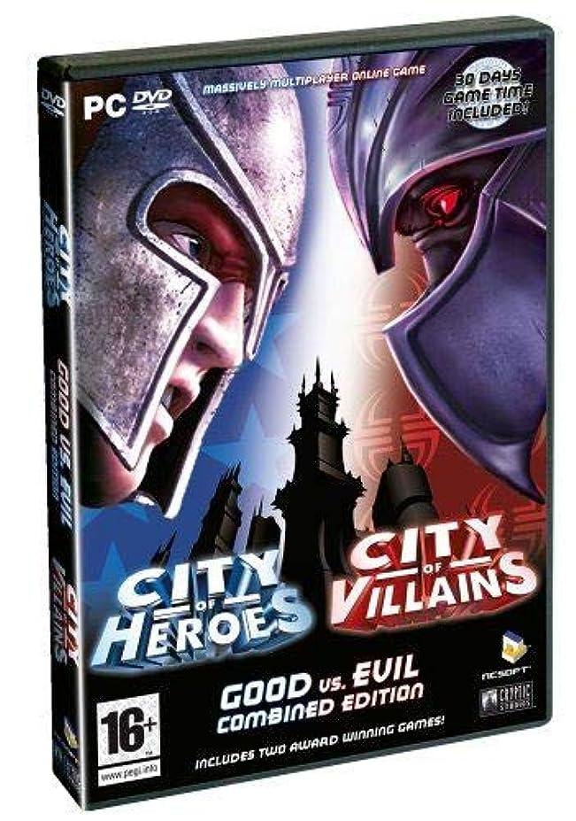 分割指紋絶妙City of Heroes/City of Villains Combined Edition (PC) (輸入版)