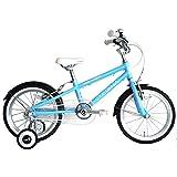 ルイガノ LOUIS GARNEAU by arcoba 子供用自転車 16インチ 2017モデル J16 アルミフレーム 軽量 幼児車 子ども用自転車 男の子 女の子 おしゃれ かわいい クリスマス (ブルー)