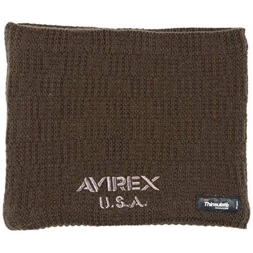 (アヴィレックス)AVIREX AVIREX Thinsulate Neck Warmer 断熱保温素材のシンサレート ネックウォーマー AX6F2219  10BR FREE