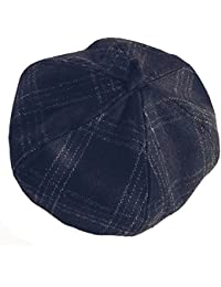 ベレー帽 レディース 帽子 秋冬 ファッション ラシャ チェック柄 クラシック プレゼント ベレー帽子 女性