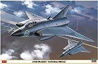 ハセガワ 1/48 スウェーデン空軍 J35D ドラケン ナチュラルメタル プラモデル 07434