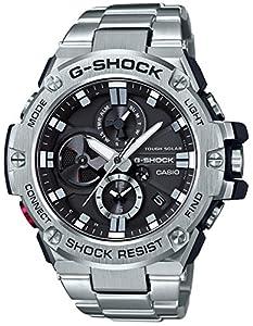 [カシオ]CASIO 腕時計 G-SHOCK ジーショック G-STEEL スマートフォン リンク GST-B100D-1AJF メンズ