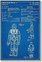 STAR WARS Boskk Patent–新しい有名な発明青写真ポスター