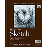 """Strathmore 400 Series Sketch Pad, 11""""x14"""" Wire Bound, 50 Sheets"""