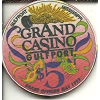 $ 5 Casino Grand Opening Gulfport、ミシシッピカジノチップObsolete Riverboat ?