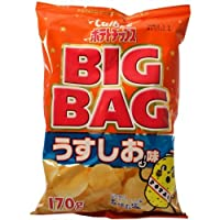 カルビー ビッグバッグうすしお味 170g