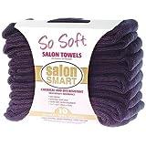 Sofeel Microfibre Salon Towels, 40 x 73cm, Black, 10 per Pack