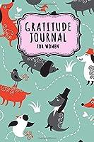 Gratitude Journal for Women: Dog Daily Gratitude Journal for Women and Girls | Undated 100 Days | 6 x 9