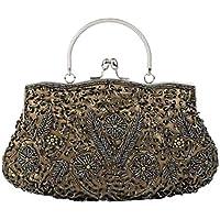 パーティーハンドパッケージ宮殿レトロ化粧品バッグマニュアルビーズのドレスバッグ、結婚式のために使用することができます/ディナー/通常の使用/女性/女の子。マルチカラーオプション