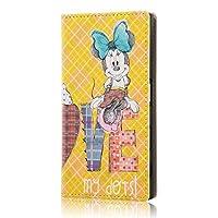 イングレム Xperia X compact ディズニー キャラクター 手帳型 ケース/ミニーマウス8 IJ-RDXPXCLC/MN008