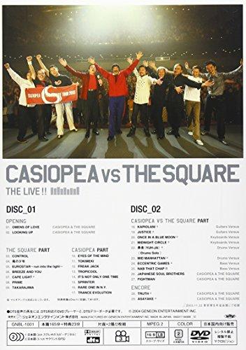 CASIOPEA VS THE SQUARE TOUR 2003 [DVD]