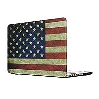 MacBook Pro 15 Retinaケース、L2W MacBook Pro 15インチRetina SleeveハードシェルProtective Cove for MacBook Pro 15.4 Retinaディスプレイモデル:A1707(米国の旗のデザイン)