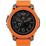 [ニクソン]NIXON ミッション MISSION スマートウォッチ 腕時計 メンズ オレンジ/グレイ/ブラック NA11672658-00 [正規輸入品]