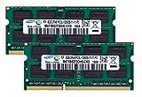 サムスン純正 PC3-12800(DDR3L-1600) SO-DIMM 8GB×2枚組 ノートPC用メモリ DDR3L対応モデル (電圧1.35V & 1.5V 両対応)
