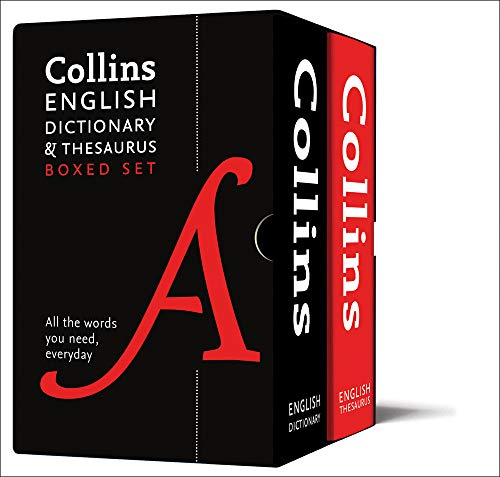 Download Collins English Dictionary and Thesaurus Boxed Set (Collins Dictionaries) 0008309728