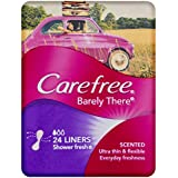 Carefree Barely There Liners Scented 24