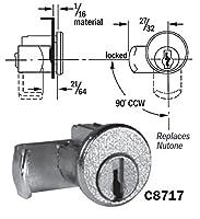 CompX National c8717メールボックスロック、Nutoneタイプ