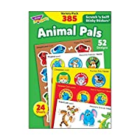 TREND Enterprises T-83915 Animal Pals Variety Pack Stinky Sticker (Pack of 385) [並行輸入品]