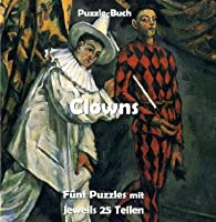 Clowns: Puzzle-Buch