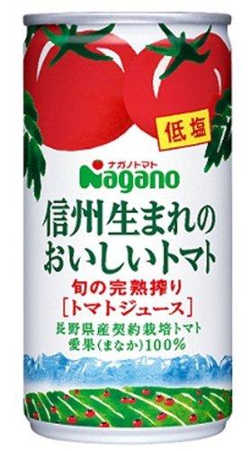 信州生まれのおいしいトマト 低塩 190g ×30缶