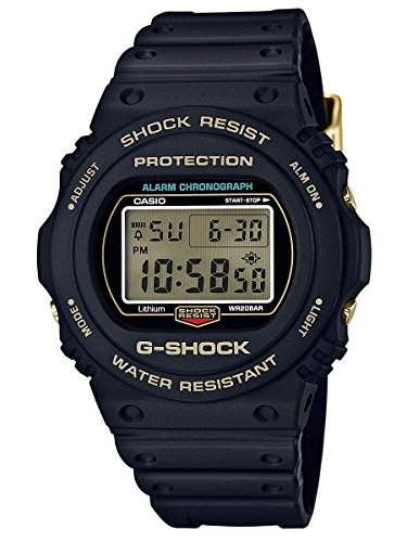 G - Shockメンズデジタルdw5735d-1b Wat...