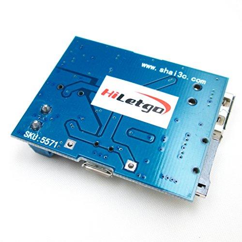 『HiLetgo 2個セット TFカード Uディスク Mp3デコーダ モジュール デコーダボード 無損失デコード 増幅器 [並行輸入品]』の1枚目の画像