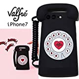 Valfreヴァルフェー(LA直輸入)3D iPhone iPhone7対応 シリコンカバー Tele /携帯ケース (iPhone7)